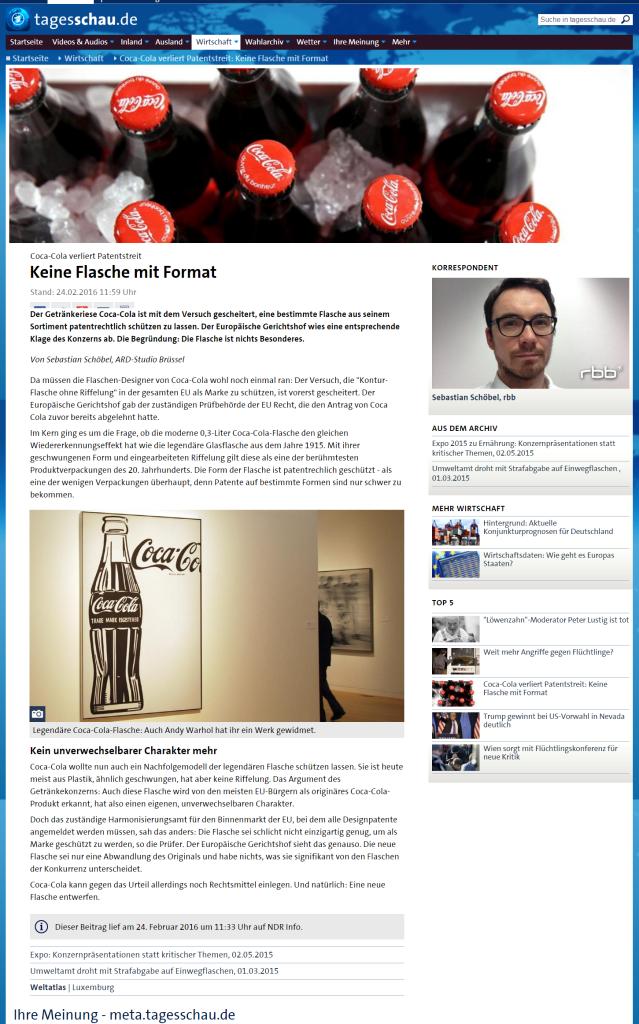 cola-flasche-patent-tagesschau